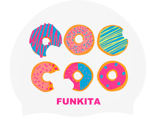 Funkita Silicone Swimming Cap, dunking donuts